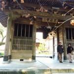 三角寺山門