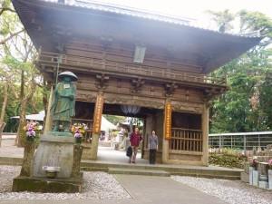 最御崎寺門