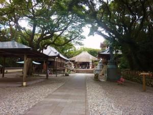 最御崎寺境内