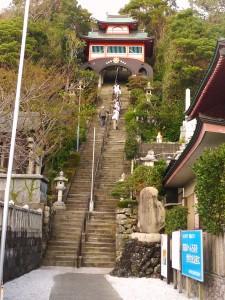 津照寺階段