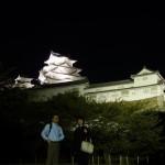 姫路城と二人