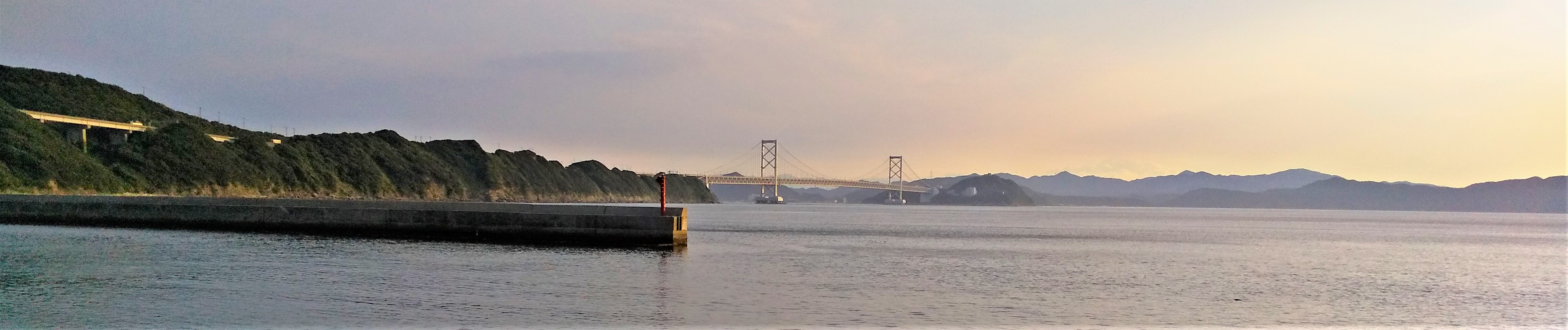 淡路島から鳴門大橋